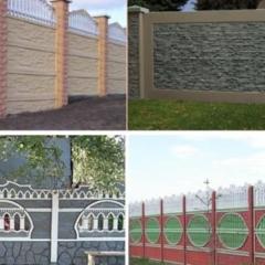 Бетонный забор, который подойдет именно вам: виды и особенности